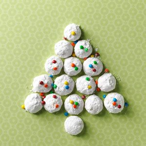 Ginger-Macadamia Nut Snowballs