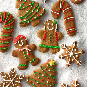 Gingerbread Cutout Cookies