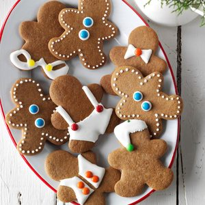 Gingerbread Men Cookies