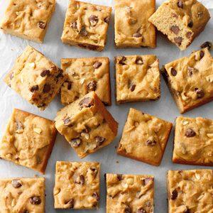 Gluten-Free Peanut Butter Blondies