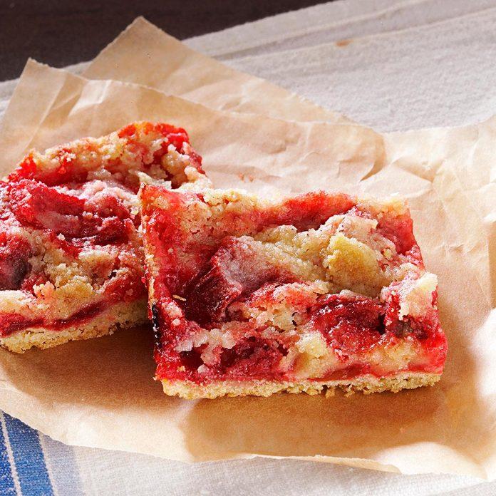 Gluten-Free Rhubarb Bars