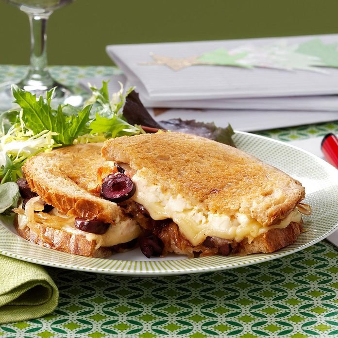 Gourmet Grilled Cheese Sandwich
