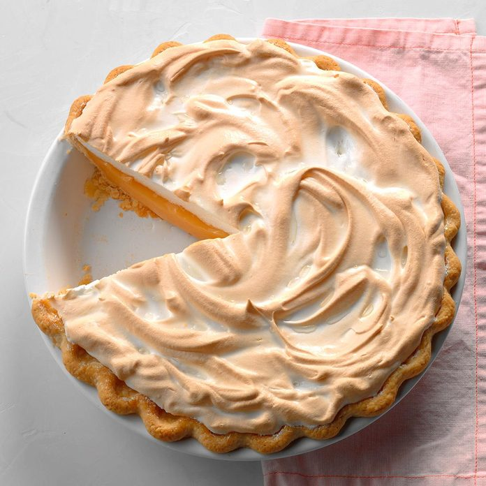 Grapefruit Meringue Pie