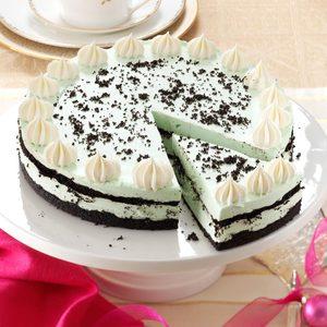 Grasshopper Cheesecake