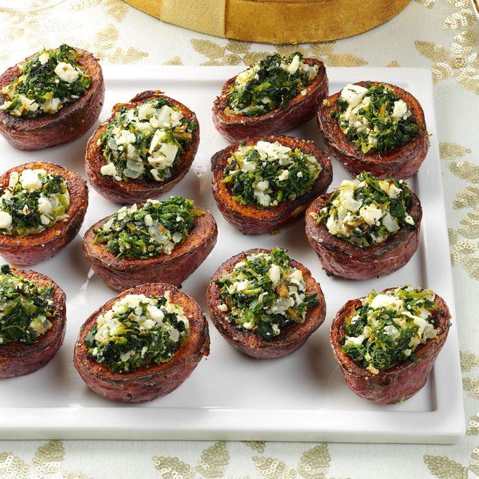 Grecian Potato Cups