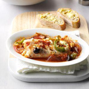 Greek Fish Bake