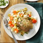Greek Orzo Chicken
