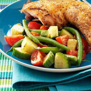 Green Bean & Balsamic Salad
