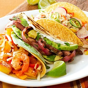 Grilled Steak & Onion Tacos