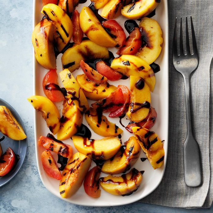 Grilled Stone Fruits With Balsamic Syrup Exps Fttmz20 146169 E03 05 2b 3