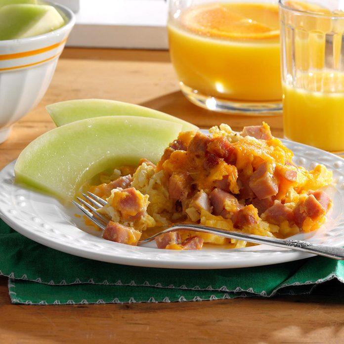 Ham Cheddar Breakfast Casserole Exps Sdam17 202062 B12 06 8b 2