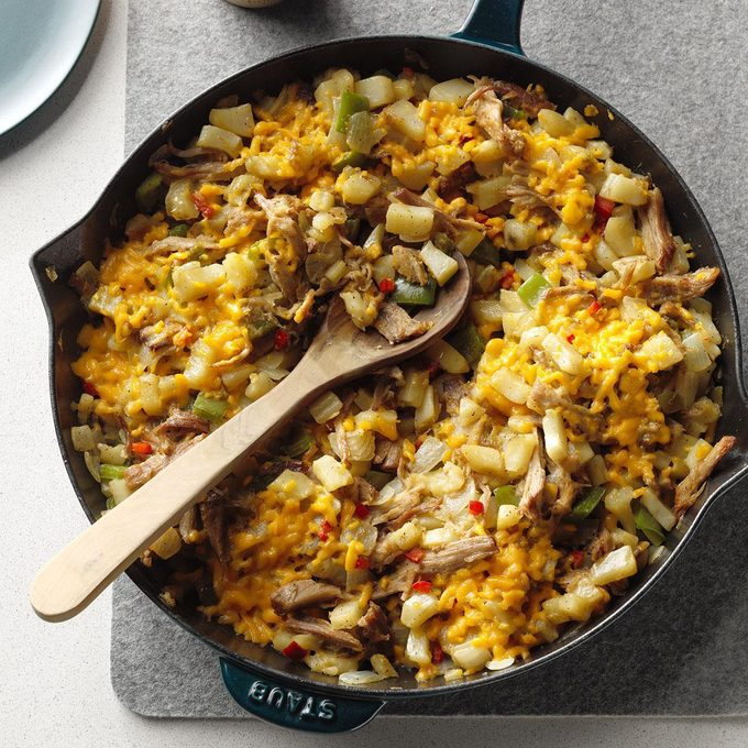 Hash Brown Pork Skillet