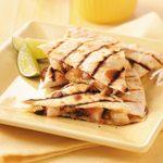 Havarti Shrimp Quesadillas