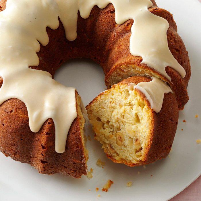 Hazelnut Pear Cake