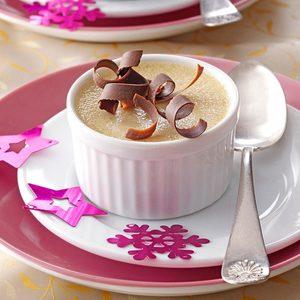Hazelnut Pots de Creme