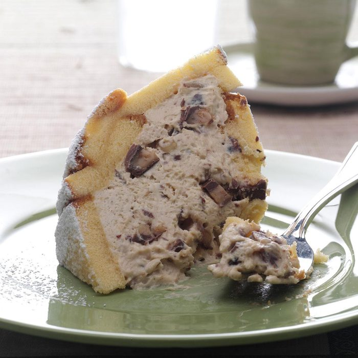 Hazelnut Toffee Zuccotto