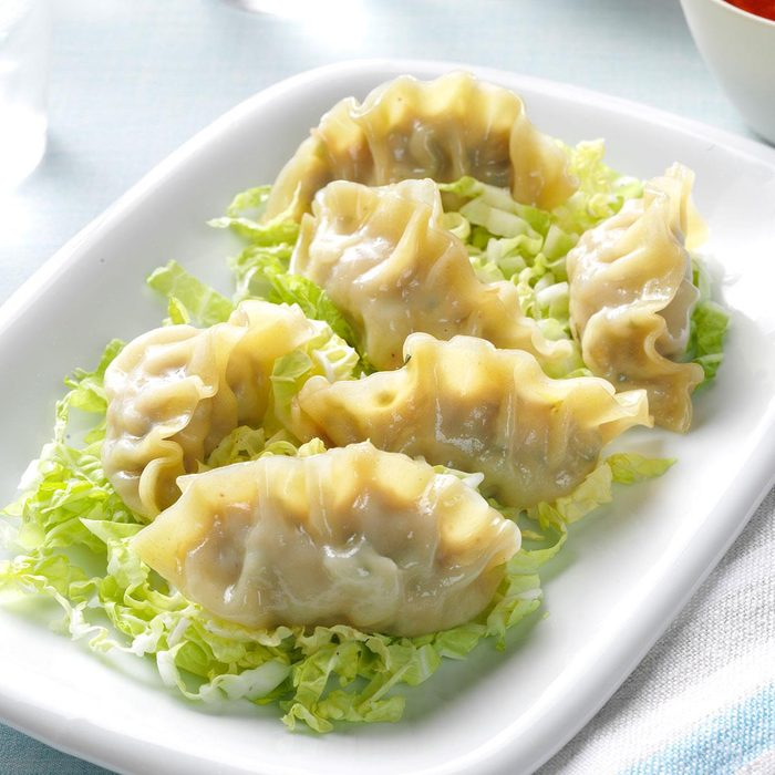 Healthy Steamed Dumplings