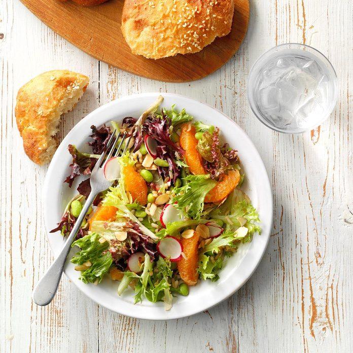 Hearty Asian Lettuce Salad