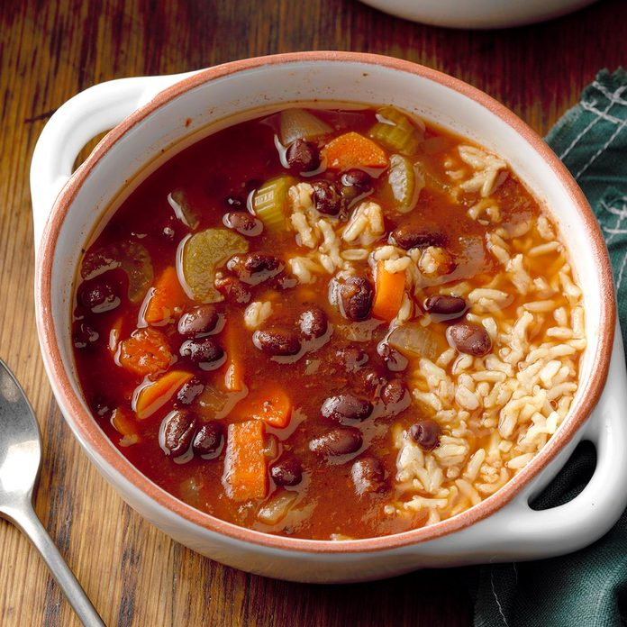 Hearty Black Bean Soup