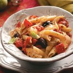 Hearty Tomato-Olive Penne