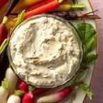 Herb Dip with Spring Vegetables