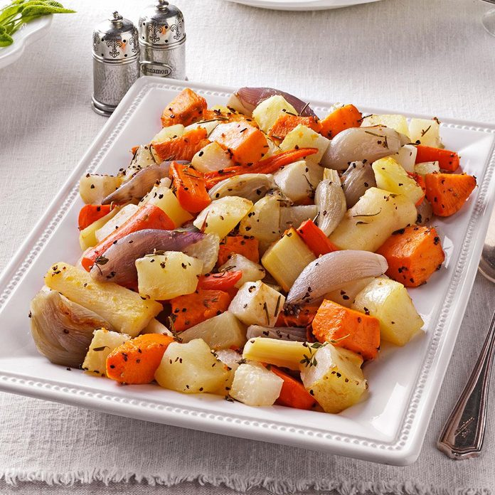 Herb Roasted Root Vegetables