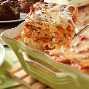 Herbed Chicken Lasagna