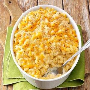 Herbed Macaroni and Cheese