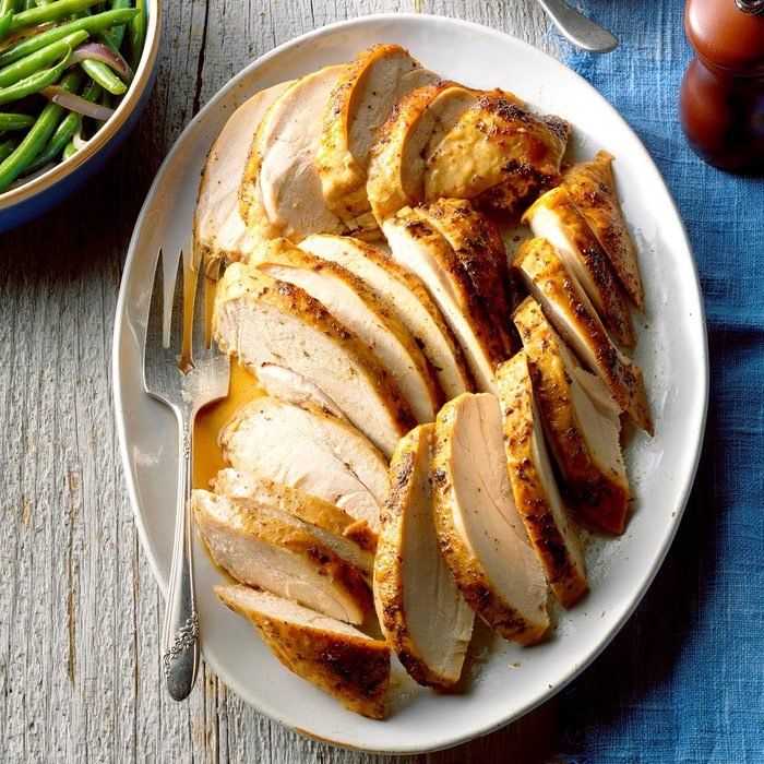 Low-Carb Herbed Turkey Breast