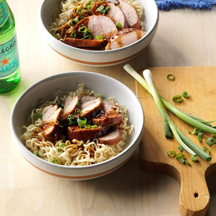 Hoisin Pork Tenderloin