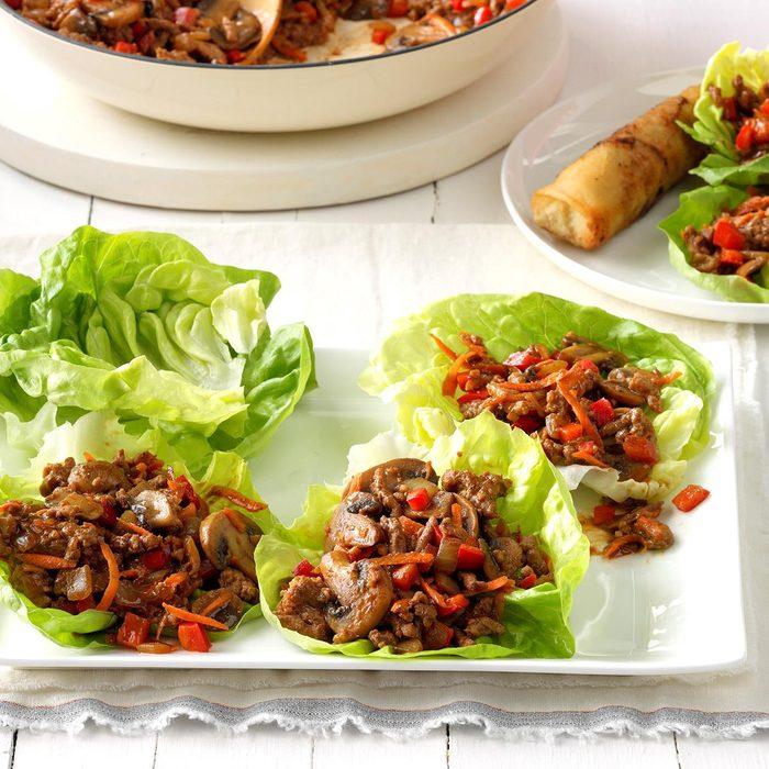 Day 4: Hoisin Turkey Lettuce Wraps