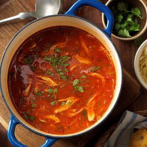 Homemade Chicken Tortilla Soup