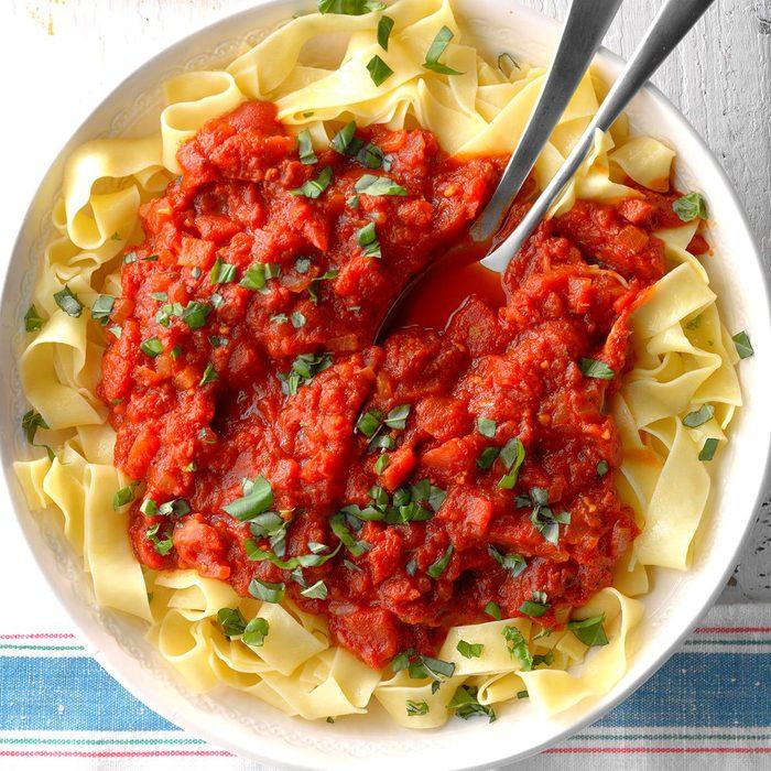 Homemade Meatless Spaghetti Sauce
