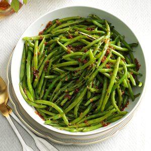 Honey Garlic Green Beans