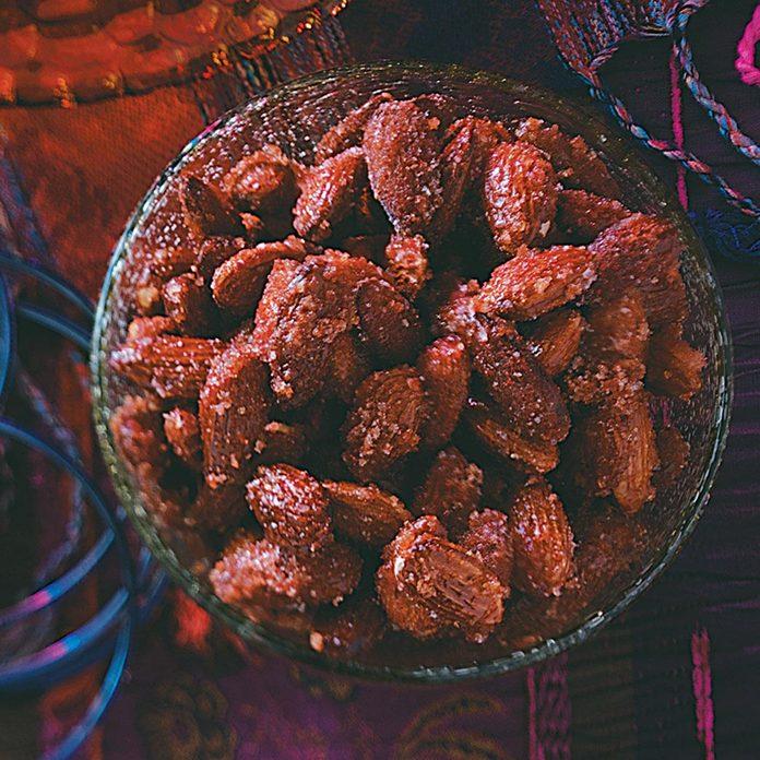 Honey & Spice Roasted Almonds