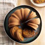 Hot Chocolate Pumpkin Cake