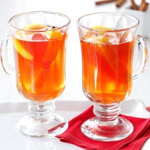 Hot Cran-Apple Cider