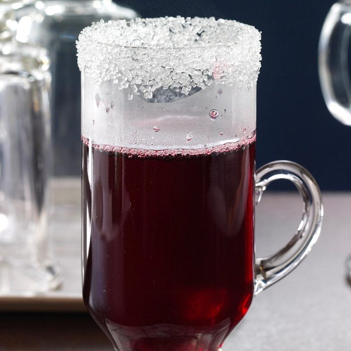 Hot Spiced Berry Punch