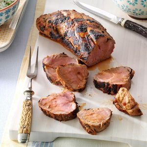 Grilled Chinese Pork Tenderloin