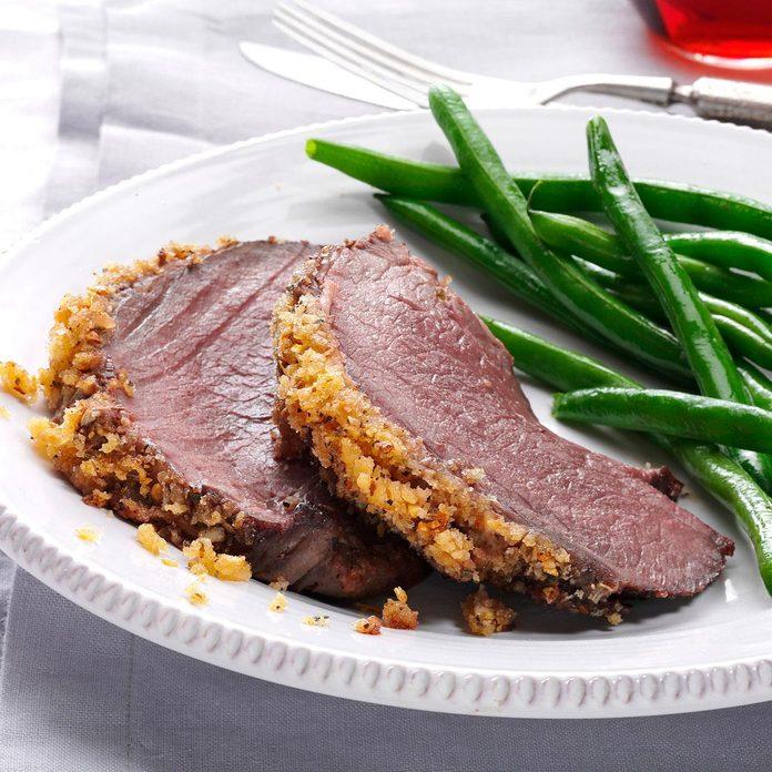 Italian Crumb-Crusted Beef Roast