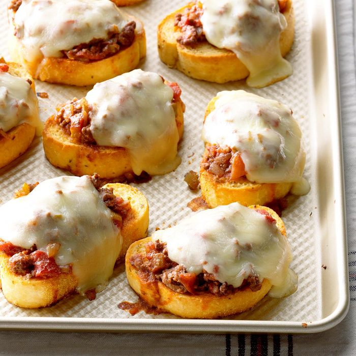April: Italian Joes on Texas Toast