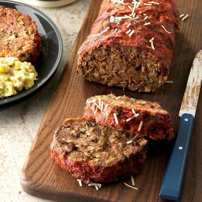 Day 27: Italian Mushroom Meat Loaf