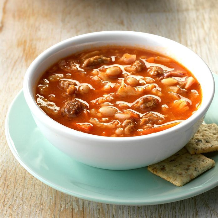 Italian Sausage and Bean Soup