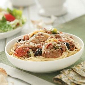 Italian Spaghetti Bake