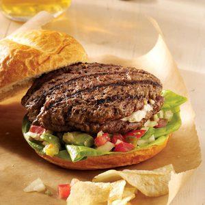 Jalapeno Popper Mega Burgers