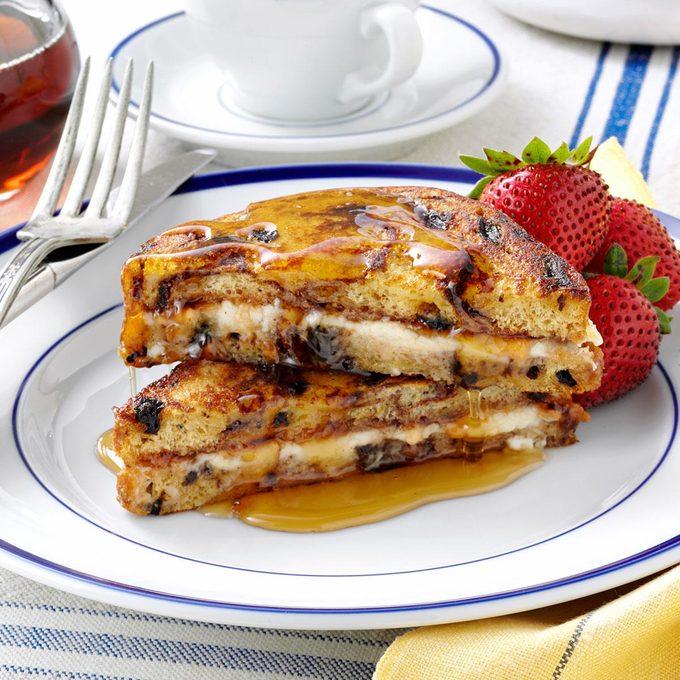 Jam 'n' Cream French Toast