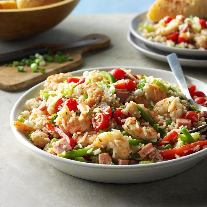Monday: Jambalaya Rice Salad