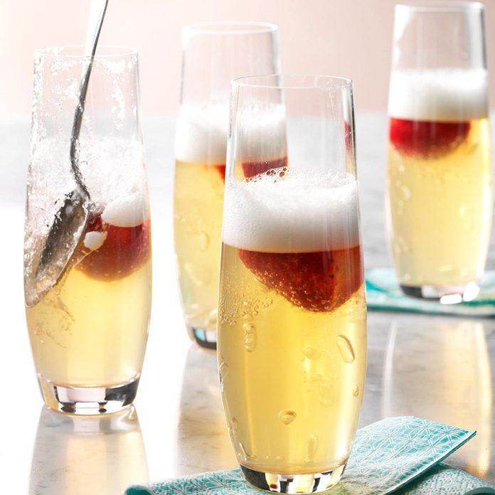 Jellied Champagne Dessert
