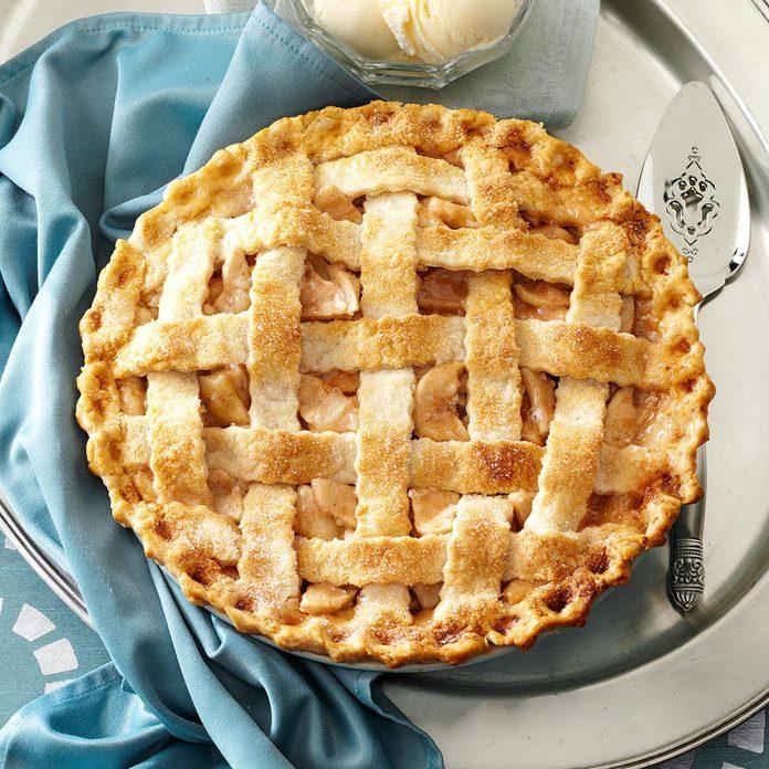 Lattice-Topped Apple Pie