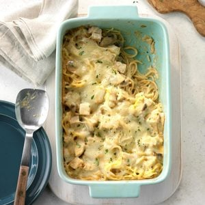 Leftover Turkey Tetrazzini